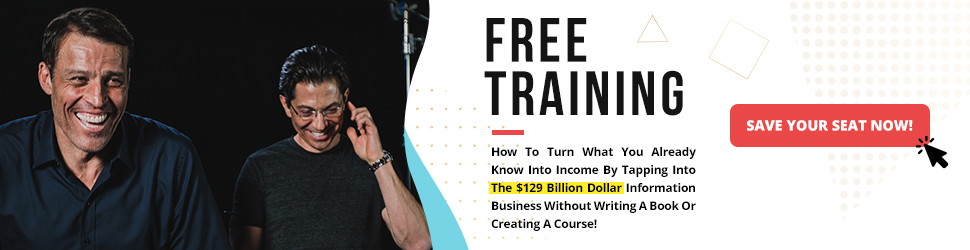 Free Training With Tony Robbins
