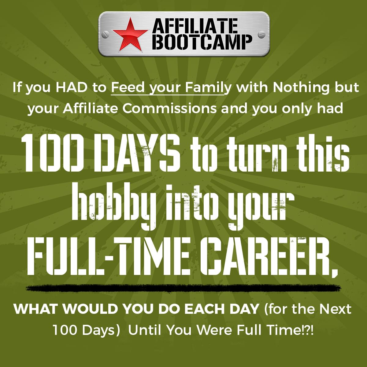 Join The Affiliate Bootcamp